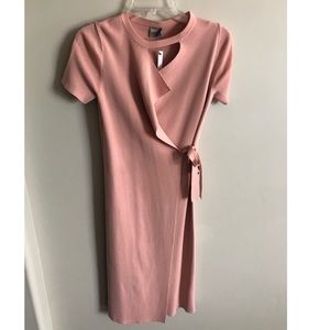 NWT Womens ASOS knit wrap dress